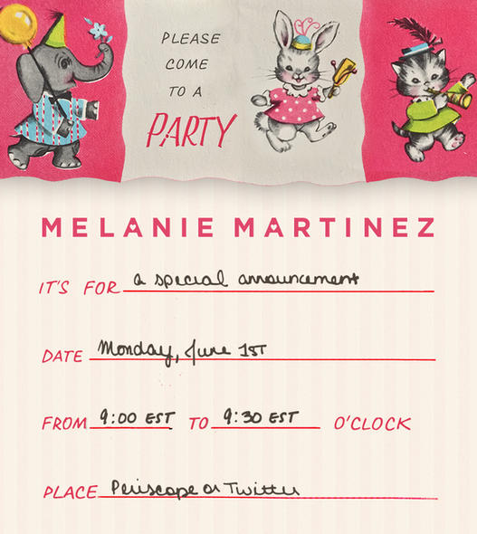 It S Melanie S Pity Party And She Ll Cry If She Wants To