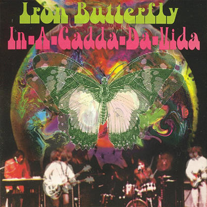 Image result for iron butterfly