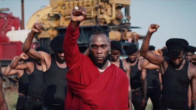 Burna Boy - Monsters You Made [Official Music Video]