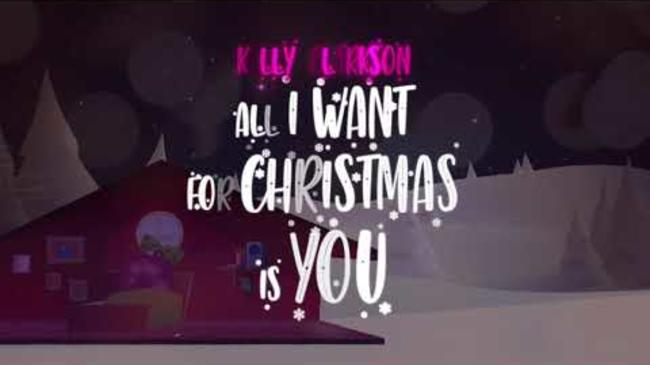Kelly Clarkson - All I Want For Christmas Is You [Official Lyric Video]