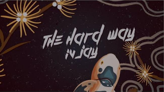 IV Jay - The Hard Way [Official Lyric Video]