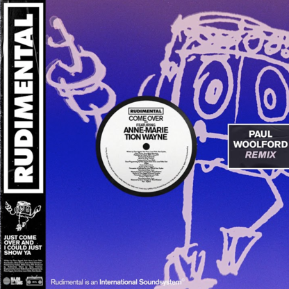 Rudimental - Come Over (feat. Anne-Marie & Tion Wayne) [Paul Woolford Remix]
